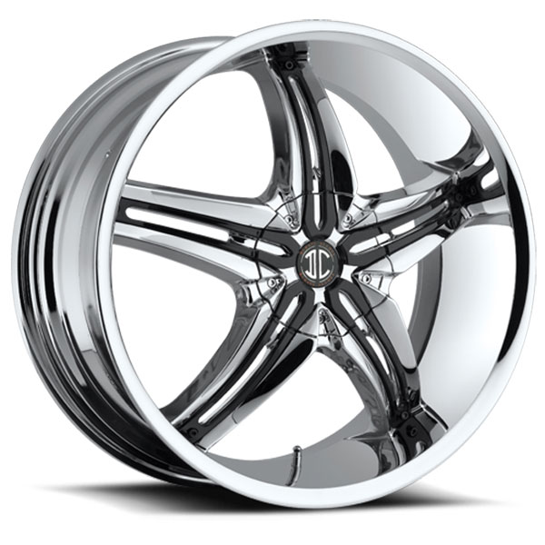 2 Crave No.5 Chrome with Black Inserts A