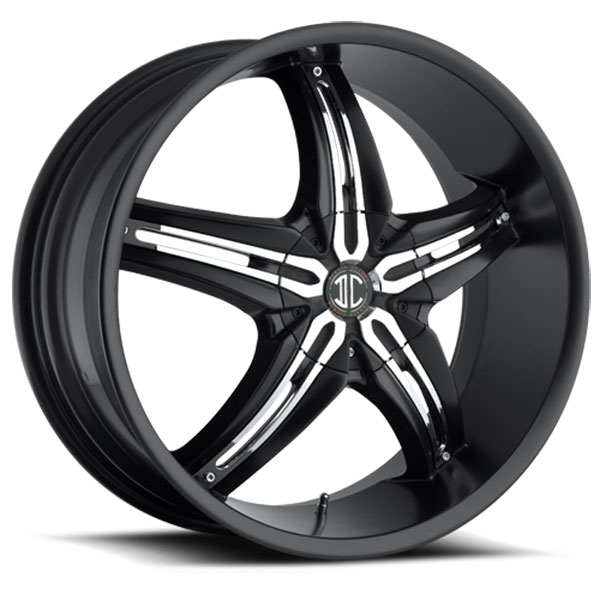 2 Crave No.5 Satin Black with Chrome Inserts A
