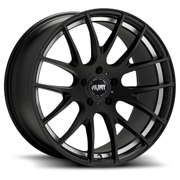 Avat AV10 Matte Black Machined