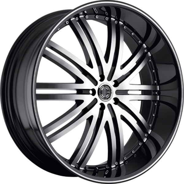Black Diamond No.11 Gloss Black with Machined Face and Stripe