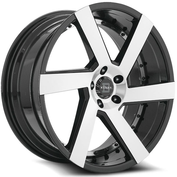 Blade BRVT-452 Maddox Black with Machined Face