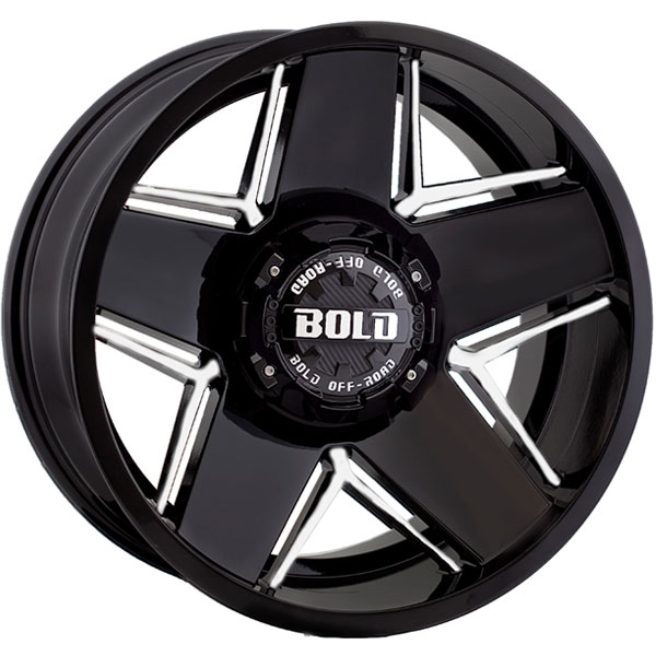 Bold BD004 Gloss Black Milled