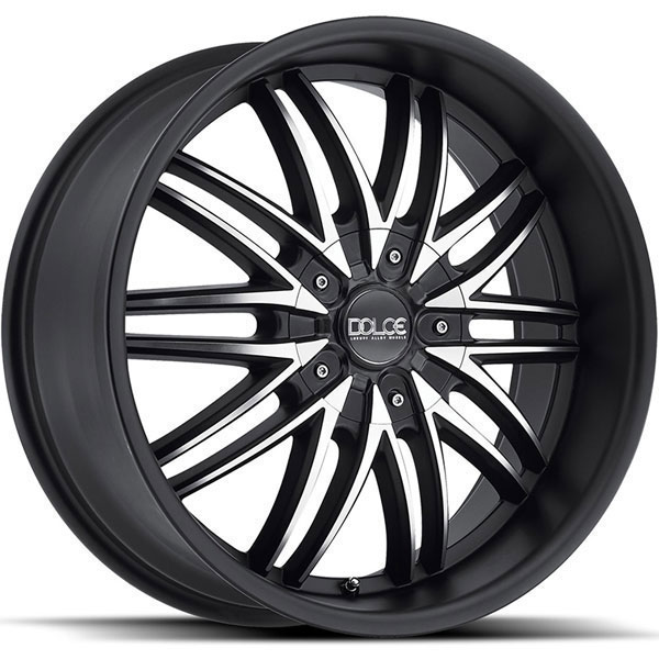 Dolce DC62 Matte Black with Machined Face