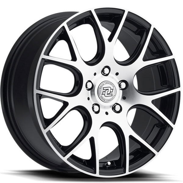 Drag Concepts R15 Gloss Black with Machined Face