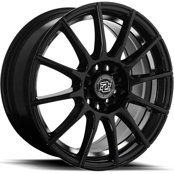 Drag Concepts R16 Gloss Black with Machined Undercut