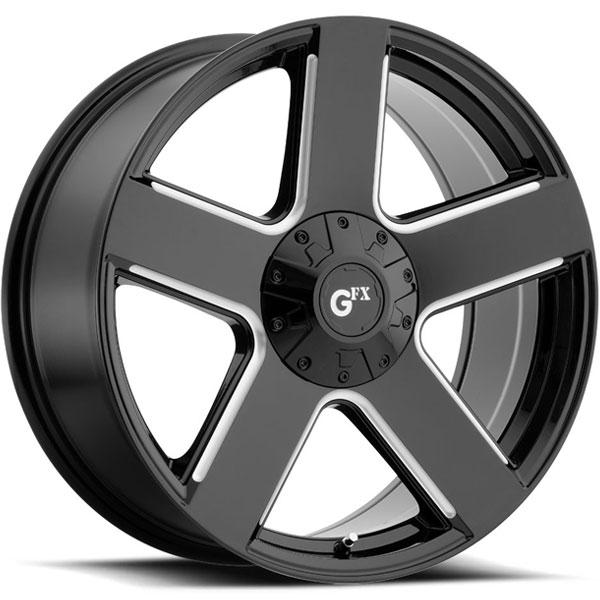 G-FX TR52 Gloss Black Milled