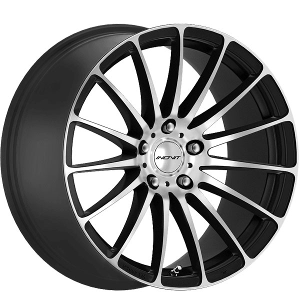 Inovit Force 5 Gloss Black with Diamond Cut Surface