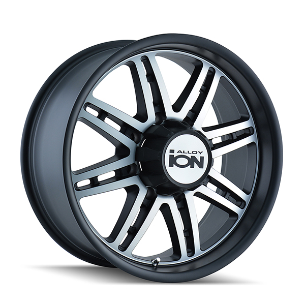 Ion Alloy 183 Matte Black with Machined Face