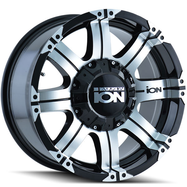 Ion Alloy 187 Black with Machined Face and Lip