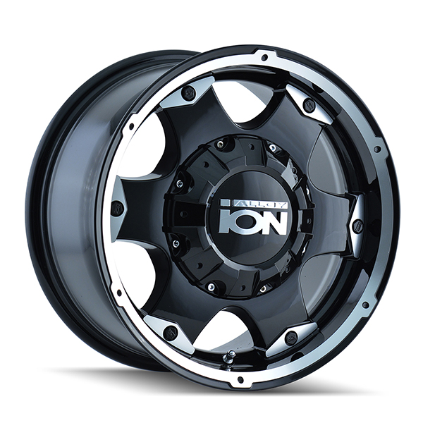 Ion Alloy 194 Black with Machined Face and Lip