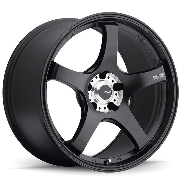 Konig Centigram Black with Machined PCD