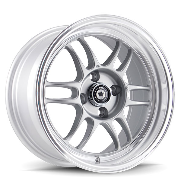 Konig Wideopen Silver with Machined Lip
