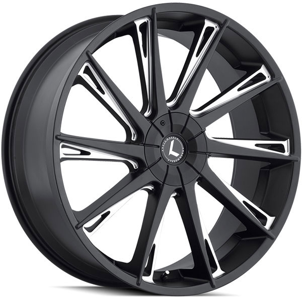 Kraze 144 Swagg Satin Black Milled