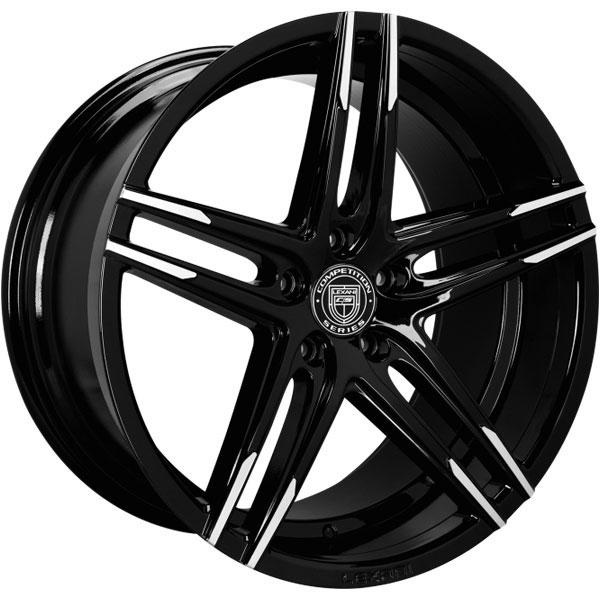 Lexani Bremen Gloss Black with Machined Tips