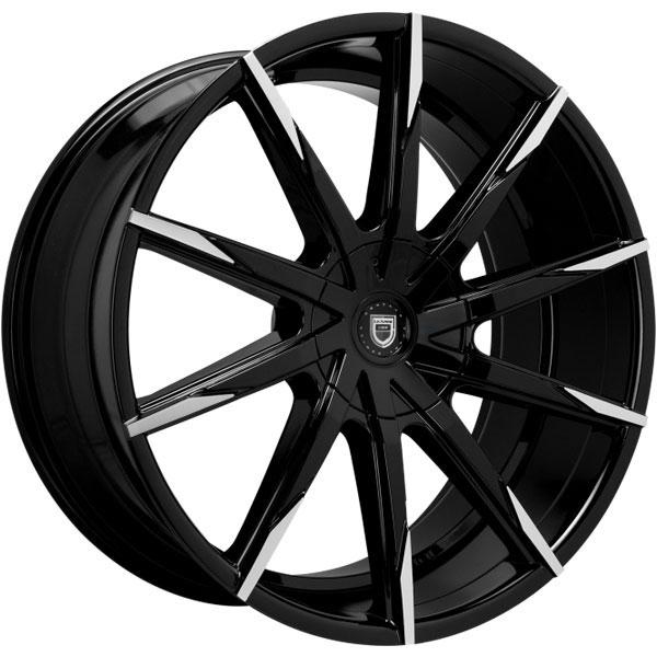 Lexani CSS-15 Gloss Black with Machined Tips V2