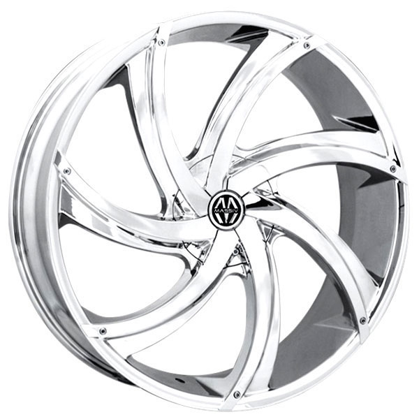 Massiv 920 Turbino Chrome with Chrome Inserts