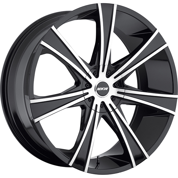 MKW M108 Black with Machined Face