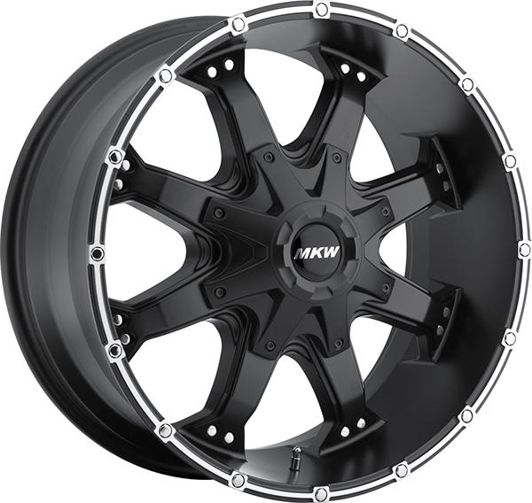 MKW M83 Black with Machined Stripe