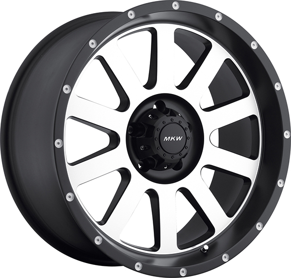 MKW M86 Black with Machined Face