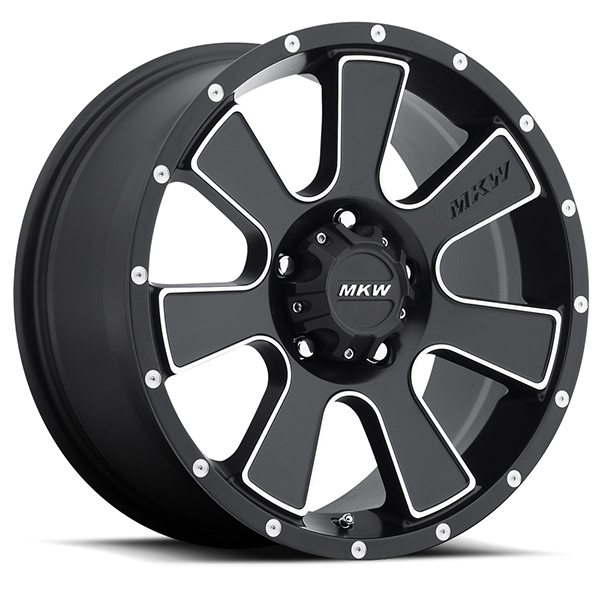 MKW M90 Satin Black with Machined Face