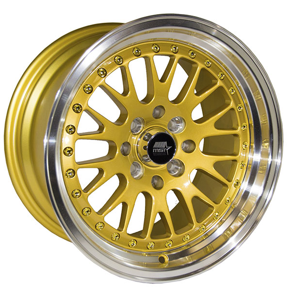 MST MT10 Gold with Machined Lip