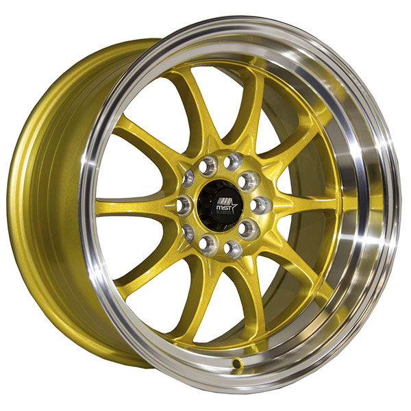 MST MT11 Gold with Machined Lip