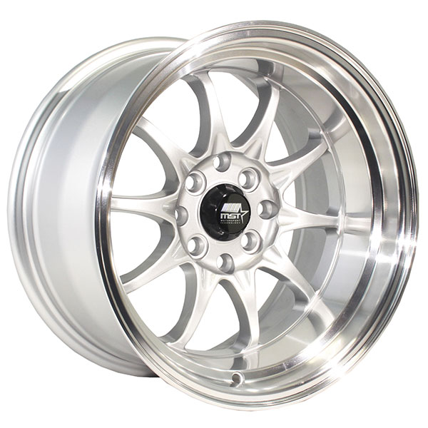 MST MT11 Silver with Machined Lip