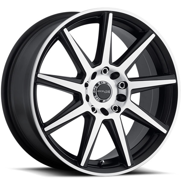 Raceline 144M Storm Black Machined