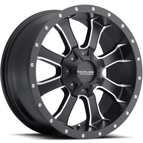 Raceline 927M Mamba HD Black with Machined Spokes