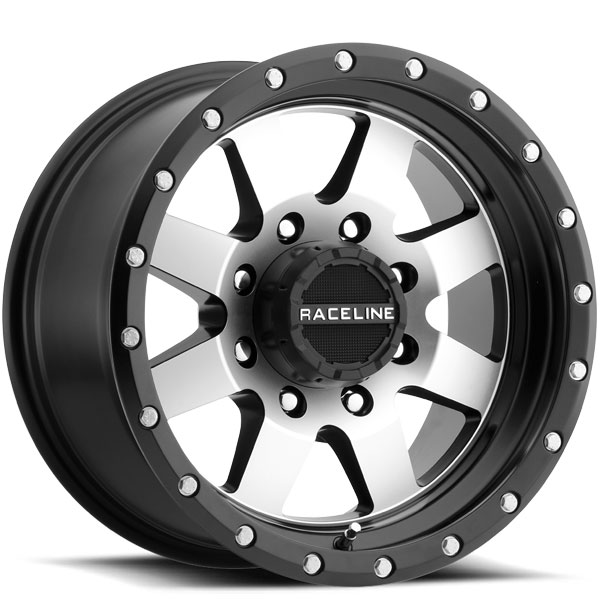 Raceline 935M Defender Black Machined