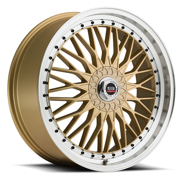 Spec-1 SP-3 Gold with Machined Lip