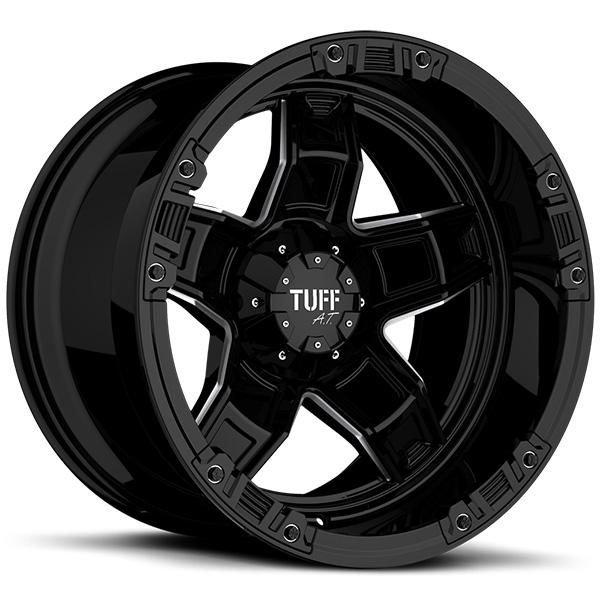Tuff T10 Gloss Black 12in. Width