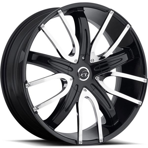 VCT V18 Black with Chrome Inserts