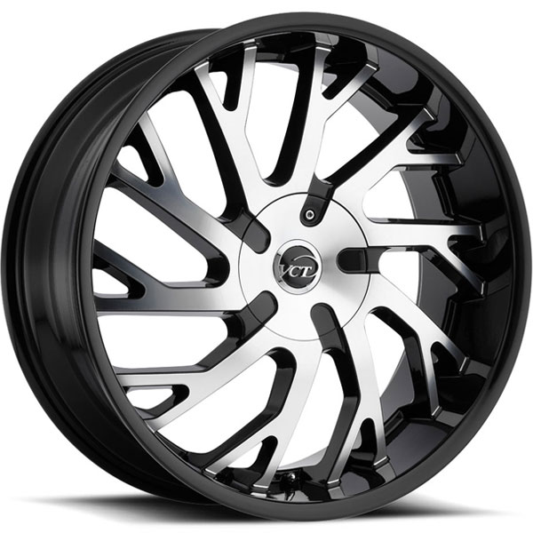 VCT V77 Black with Machined Face
