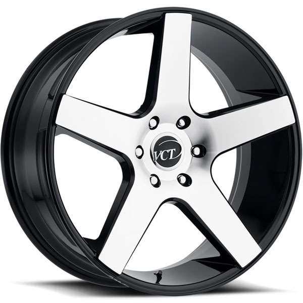 VCT V83 Black with Machined Face