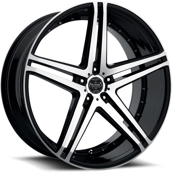 Versante 233 Black with Machined Face