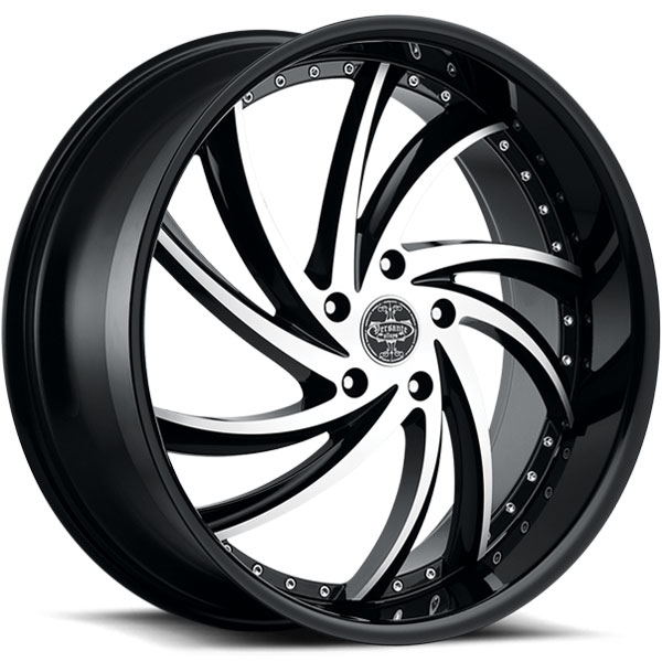 Versante 241 Black with Machined Face