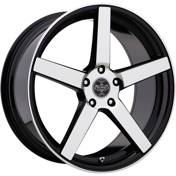 Versante 504 Black with Machined Face