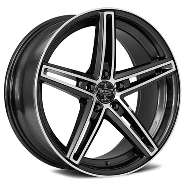 Versante 505 Black with Machined Face