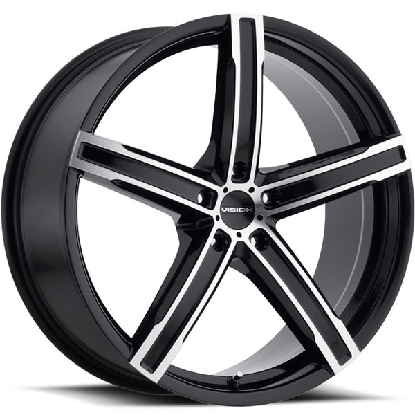 Vision 469 Boost Gloss Black with Machined Face