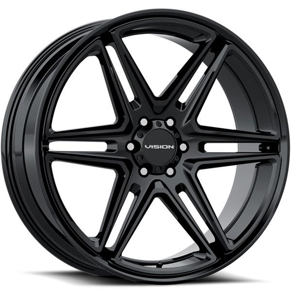 Vision 476 Wedge Gloss Black