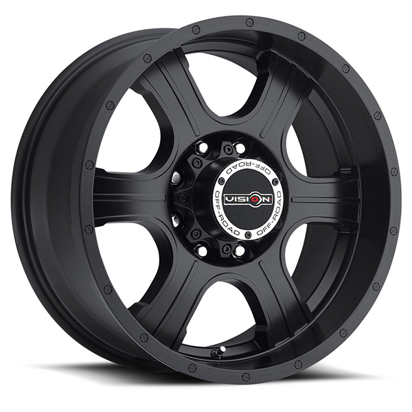 Vision Off-Road 396 Assassin Matte Black
