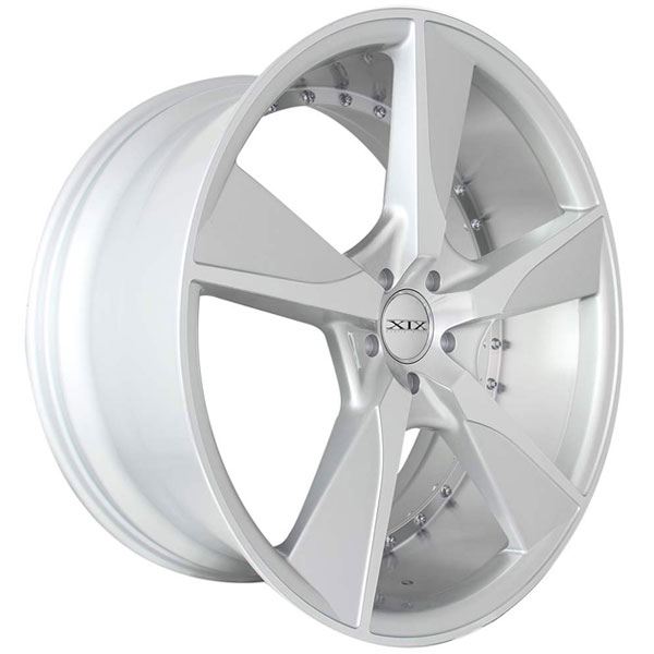 XIX Exotic X45 Silver with Machined Face and Undercut