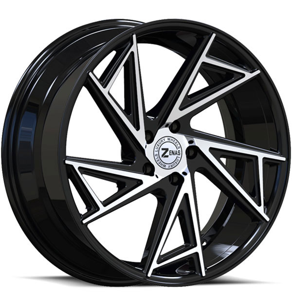 Zenas ZW04 Black with Machined Face