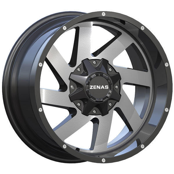 Zenas ZW12 Black with Machined Face